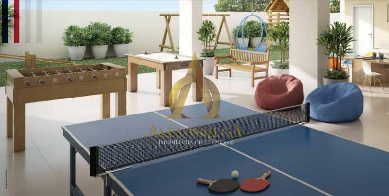 57 - Apartamento à venda Rua Araguaia,Freguesia (Jacarepaguá), Rio de Janeiro - R$ 860.400 - AOJ40006 - 26