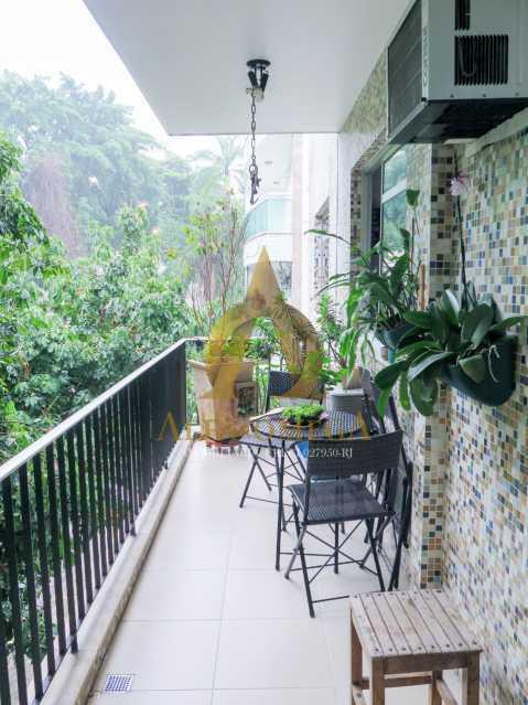 1 - Apartamento à venda Rua Ituverava,Anil, Rio de Janeiro - R$ 390.000 - AOJ40007 - 4