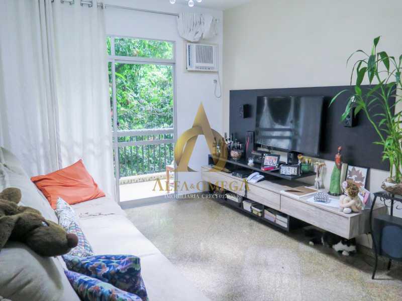 3 - Apartamento à venda Rua Ituverava,Anil, Rio de Janeiro - R$ 390.000 - AOJ40007 - 1