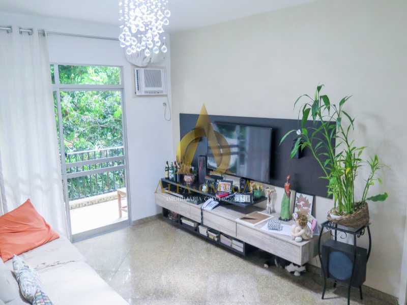 9 - Apartamento à venda Rua Ituverava,Anil, Rio de Janeiro - R$ 390.000 - AOJ40007 - 7
