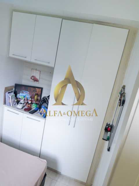 12 - Apartamento à venda Rua Ituverava,Anil, Rio de Janeiro - R$ 390.000 - AOJ40007 - 11