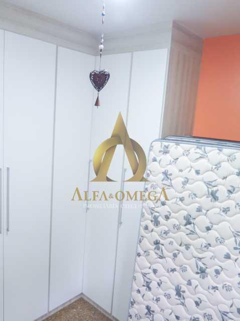 15 - Apartamento à venda Rua Ituverava,Anil, Rio de Janeiro - R$ 390.000 - AOJ40007 - 10