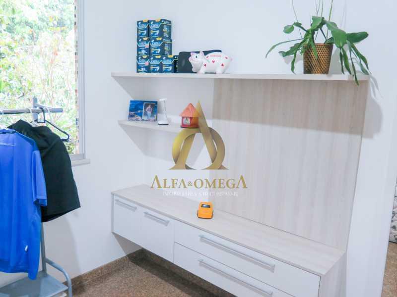 17 - Apartamento à venda Rua Ituverava,Anil, Rio de Janeiro - R$ 390.000 - AOJ40007 - 13