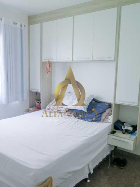 18 - Apartamento à venda Rua Ituverava,Anil, Rio de Janeiro - R$ 390.000 - AOJ40007 - 16