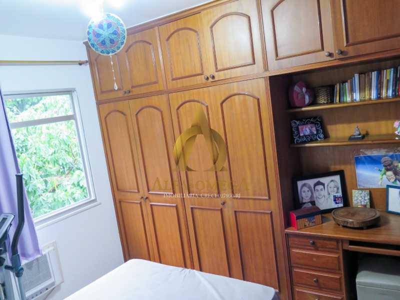 21 - Apartamento à venda Rua Ituverava,Anil, Rio de Janeiro - R$ 390.000 - AOJ40007 - 18