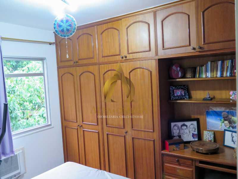 22 - Apartamento à venda Rua Ituverava,Anil, Rio de Janeiro - R$ 390.000 - AOJ40007 - 19