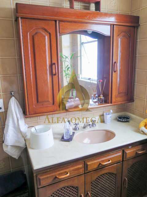 23 - Apartamento à venda Rua Ituverava,Anil, Rio de Janeiro - R$ 390.000 - AOJ40007 - 22