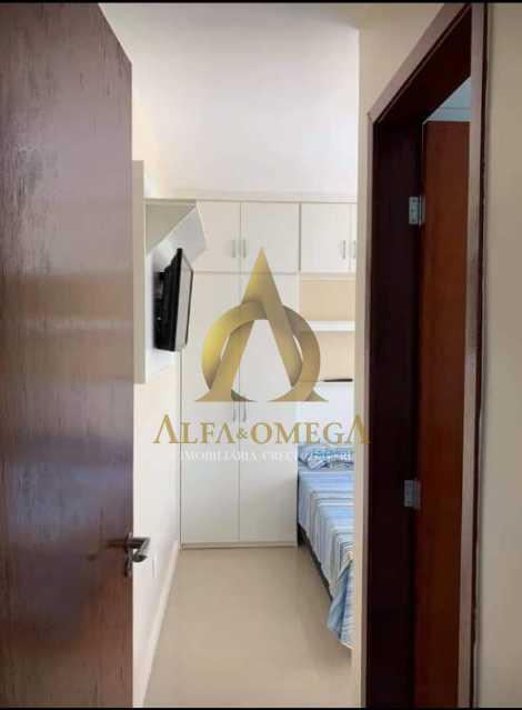 5 - Apartamento Rua Dois-W,Recreio dos Bandeirantes, Rio de Janeiro, RJ Para Alugar, 2 Quartos, 79m² - AOJ20038L - 10