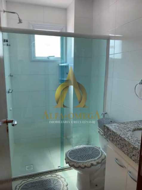 10 - Apartamento Rua Dois-W,Recreio dos Bandeirantes, Rio de Janeiro, RJ Para Alugar, 2 Quartos, 79m² - AOJ20038L - 12