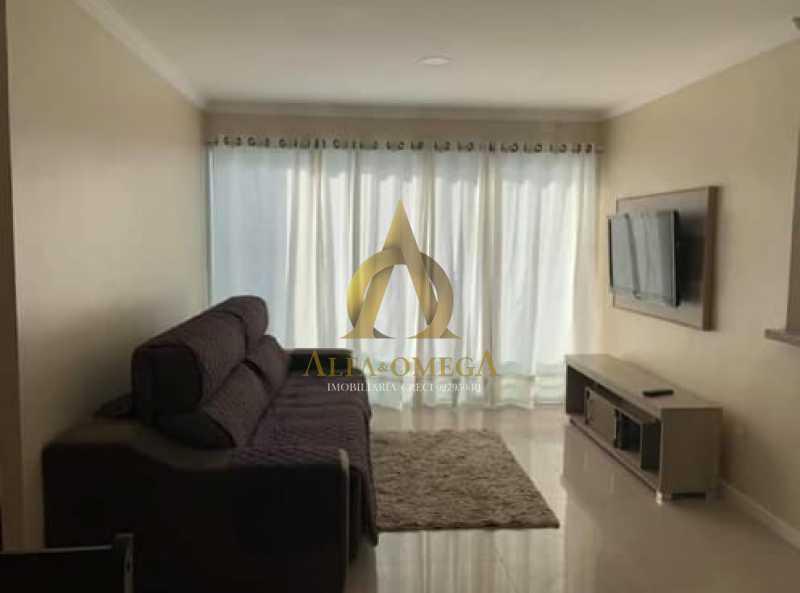 12 - Apartamento Rua Dois-W,Recreio dos Bandeirantes, Rio de Janeiro, RJ Para Alugar, 2 Quartos, 79m² - AOJ20038L - 1