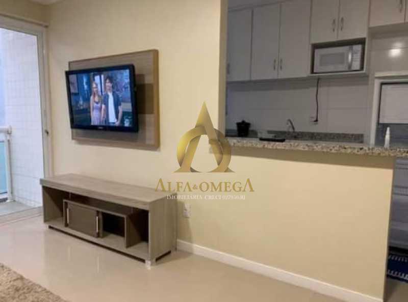 13 - Apartamento Rua Dois-W,Recreio dos Bandeirantes, Rio de Janeiro, RJ Para Alugar, 2 Quartos, 79m² - AOJ20038L - 5