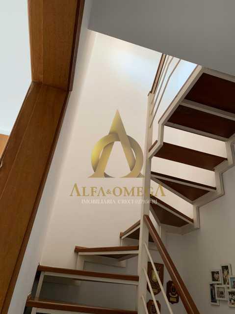 9 - Casa em Condomínio Rua Ponte Nova,Tanque, Rio de Janeiro, RJ À Venda, 3 Quartos, 150m² - AOJ60051 - 10