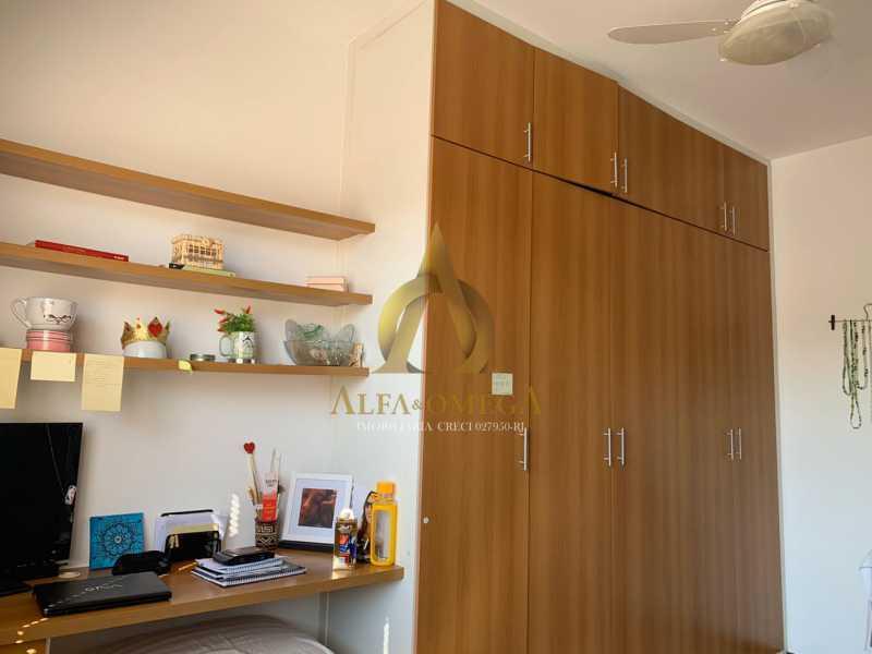 12 - Casa em Condomínio Rua Ponte Nova,Tanque, Rio de Janeiro, RJ À Venda, 3 Quartos, 150m² - AOJ60051 - 15