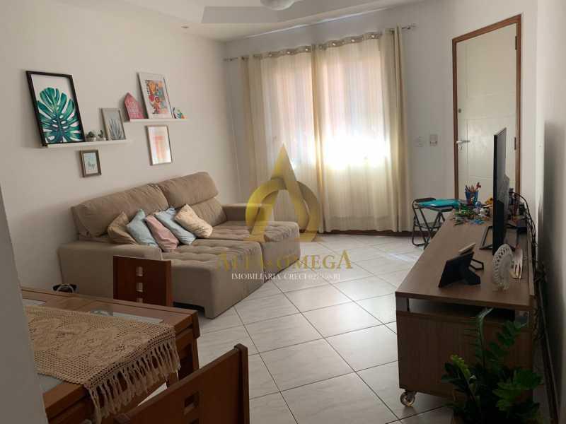 16 - Casa em Condomínio Rua Ponte Nova,Tanque, Rio de Janeiro, RJ À Venda, 3 Quartos, 150m² - AOJ60051 - 1