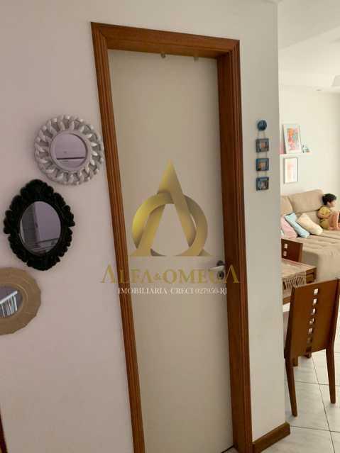 27 - Casa em Condomínio Rua Ponte Nova,Tanque, Rio de Janeiro, RJ À Venda, 3 Quartos, 150m² - AOJ60051 - 9