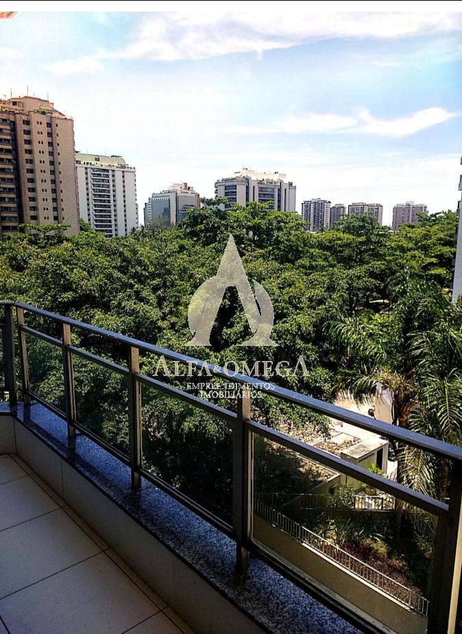 FOTO 1 - Apartamento À Venda - Barra da Tijuca - Rio de Janeiro - RJ - AO10226 - 1