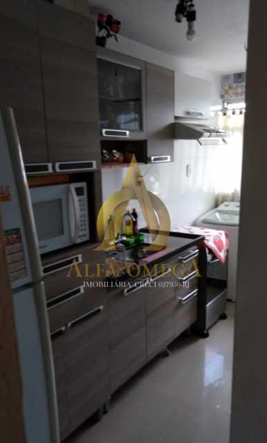 2 - Apartamento Estrada Marechal Miguel Salazar Mendes de Morais,Taquara, Rio de Janeiro, RJ À Venda, 3 Quartos, 62m² - AOJ30027 - 20