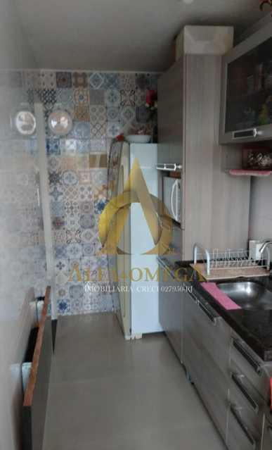 3 - Apartamento Estrada Marechal Miguel Salazar Mendes de Morais,Taquara, Rio de Janeiro, RJ À Venda, 3 Quartos, 62m² - AOJ30027 - 21