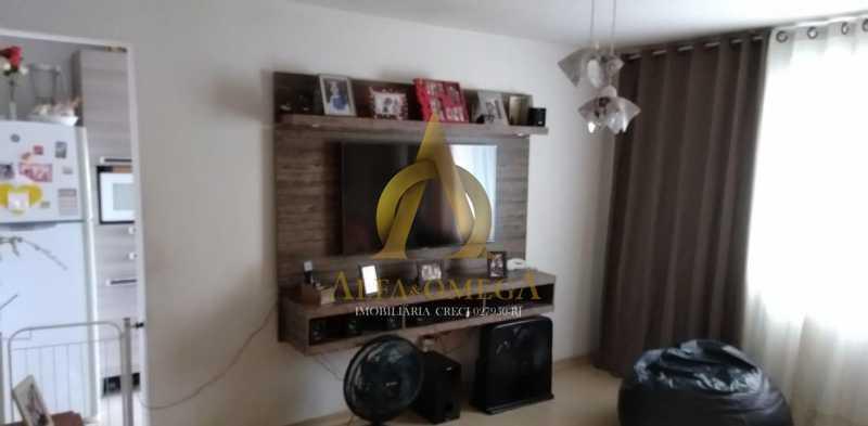 8 - Apartamento Estrada Marechal Miguel Salazar Mendes de Morais,Taquara, Rio de Janeiro, RJ À Venda, 3 Quartos, 62m² - AOJ30027 - 1