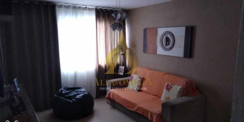 9 - Apartamento Estrada Marechal Miguel Salazar Mendes de Morais,Taquara, Rio de Janeiro, RJ À Venda, 3 Quartos, 62m² - AOJ30027 - 3