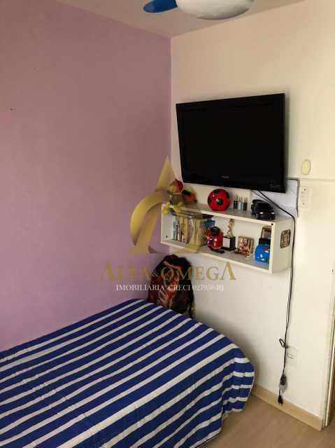 11 - Apartamento Estrada Marechal Miguel Salazar Mendes de Morais,Taquara, Rio de Janeiro, RJ À Venda, 3 Quartos, 62m² - AOJ30027 - 13