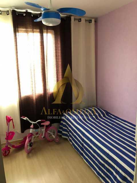 16 - Apartamento Estrada Marechal Miguel Salazar Mendes de Morais,Taquara, Rio de Janeiro, RJ À Venda, 3 Quartos, 62m² - AOJ30027 - 14