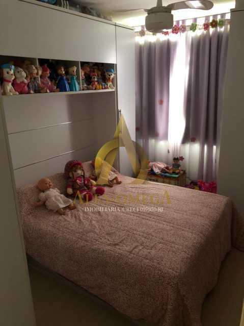 19 - Apartamento Estrada Marechal Miguel Salazar Mendes de Morais,Taquara, Rio de Janeiro, RJ À Venda, 3 Quartos, 62m² - AOJ30027 - 7