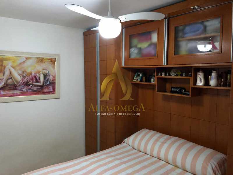 25 - Apartamento Estrada Marechal Miguel Salazar Mendes de Morais,Taquara, Rio de Janeiro, RJ À Venda, 3 Quartos, 62m² - AOJ30027 - 11