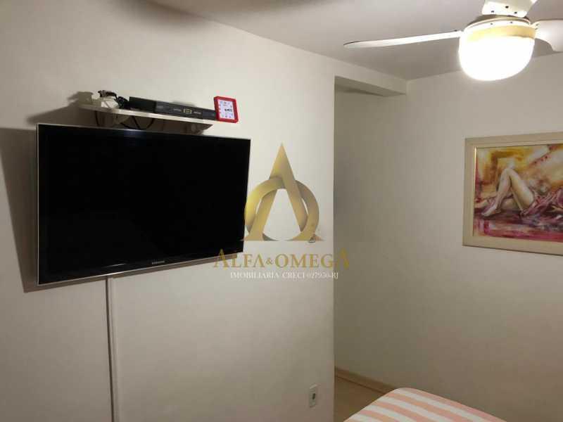 26 - Apartamento Estrada Marechal Miguel Salazar Mendes de Morais,Taquara, Rio de Janeiro, RJ À Venda, 3 Quartos, 62m² - AOJ30027 - 12