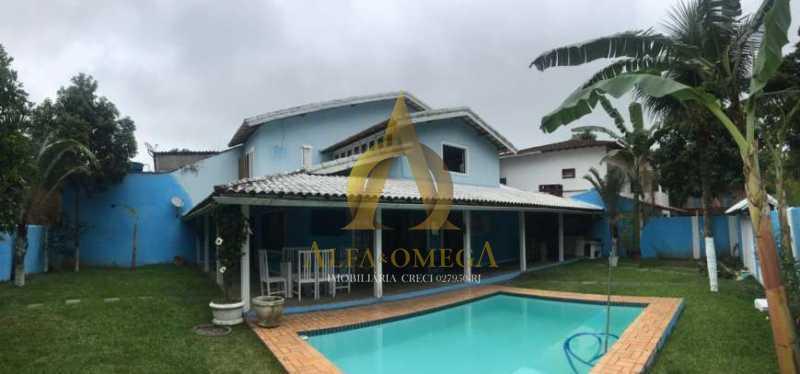 1 - Casa em Condominio Estrada do Sacarrão,Vargem Grande,Rio de Janeiro,RJ Para Venda e Aluguel,3 Quartos,590m² - AOJ60052 - 1