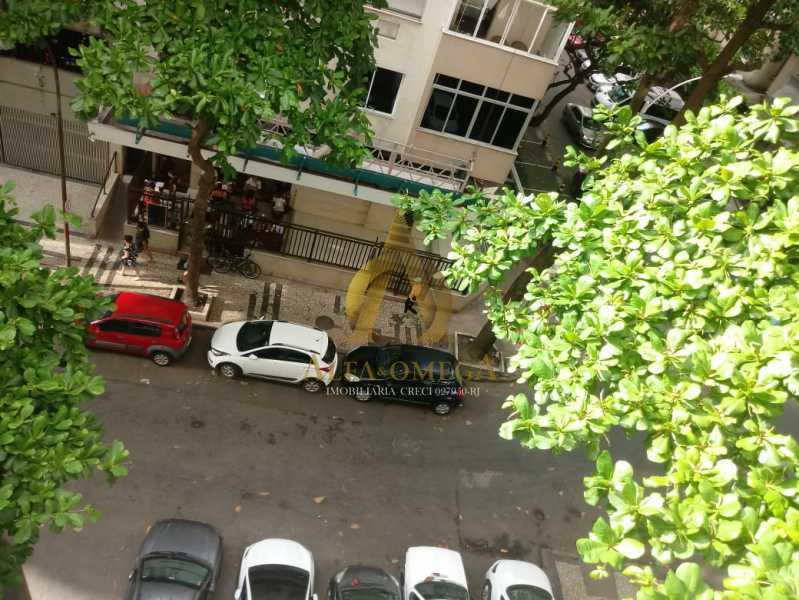 4 - Apartamento Rua Antônio Vieira,Leme, Rio de Janeiro, RJ Para Alugar, 2 Quartos, 65m² - AOJ20040L - 9