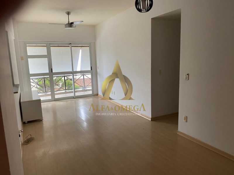 1 - Apartamento Rua Professor Henrique Costa,Pechincha, Rio de Janeiro, RJ Para Alugar, 3 Quartos, 90m² - AOJ30011L - 1