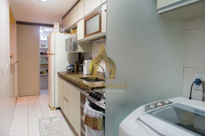 6 - Apartamento Avenida Eixo Metropolitano Este-Oeste,Jacarepaguá,Rio de Janeiro,RJ À Venda,96m² - AOJ30029 - 26