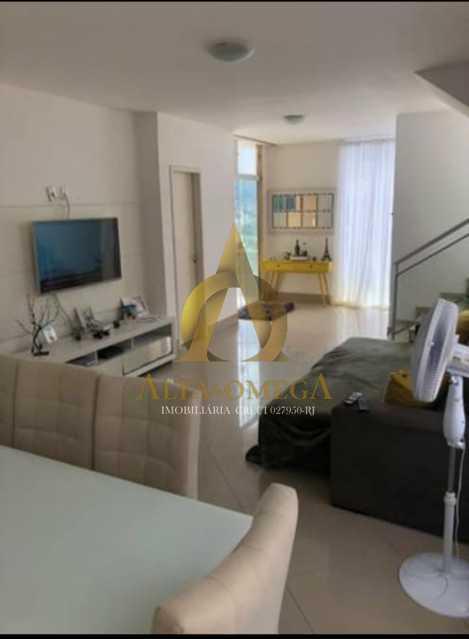 3 - Casa em Condomínio Estrada do Rio Grande,Taquara, Rio de Janeiro, RJ Para Alugar, 3 Quartos, 225m² - AOJ60023L - 1