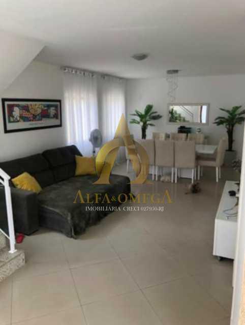 5 - Casa em Condomínio Estrada do Rio Grande,Taquara, Rio de Janeiro, RJ Para Alugar, 3 Quartos, 225m² - AOJ60023L - 3