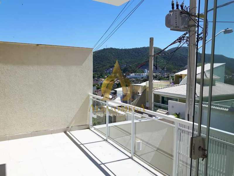 24 - Casa em Condomínio Estrada do Rio Grande,Taquara, Rio de Janeiro, RJ Para Alugar, 3 Quartos, 225m² - AOJ60023L - 30