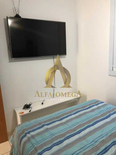 8 - Apartamento Avenida Geremário Dantas,Pechincha, Rio de Janeiro, RJ À Venda, 2 Quartos, 50m² - AOJ20132 - 10