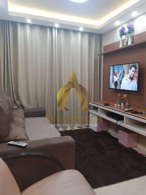 3 - Apartamento Estrada Pau-Ferro,Pechincha, Rio de Janeiro, RJ À Venda, 3 Quartos, 78m² - AOJ30031 - 1