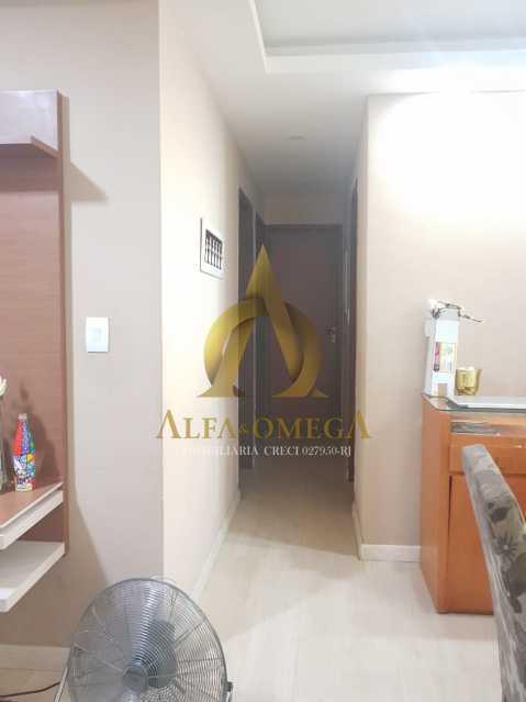4 - Apartamento Estrada Pau-Ferro,Pechincha, Rio de Janeiro, RJ À Venda, 3 Quartos, 78m² - AOJ30031 - 5