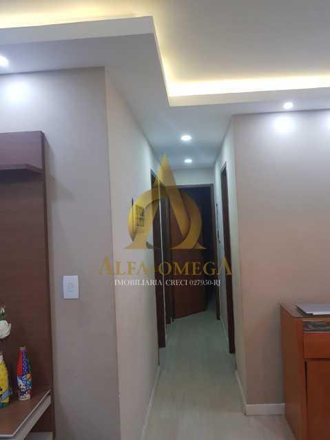 5 - Apartamento Estrada Pau-Ferro,Pechincha, Rio de Janeiro, RJ À Venda, 3 Quartos, 78m² - AOJ30031 - 4
