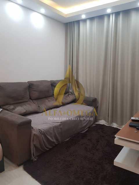7 - Apartamento Estrada Pau-Ferro,Pechincha, Rio de Janeiro, RJ À Venda, 3 Quartos, 78m² - AOJ30031 - 3