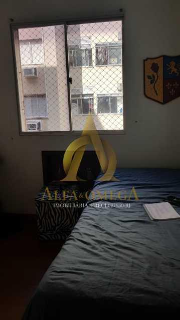8 - Apartamento Estrada Pau-Ferro,Pechincha, Rio de Janeiro, RJ À Venda, 3 Quartos, 78m² - AOJ30031 - 7