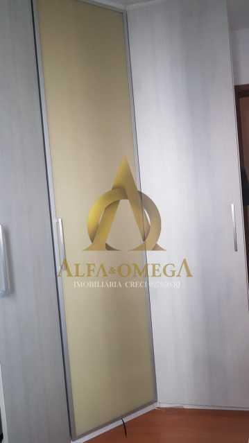 16 - Apartamento Estrada Pau-Ferro,Pechincha, Rio de Janeiro, RJ À Venda, 3 Quartos, 78m² - AOJ30031 - 12