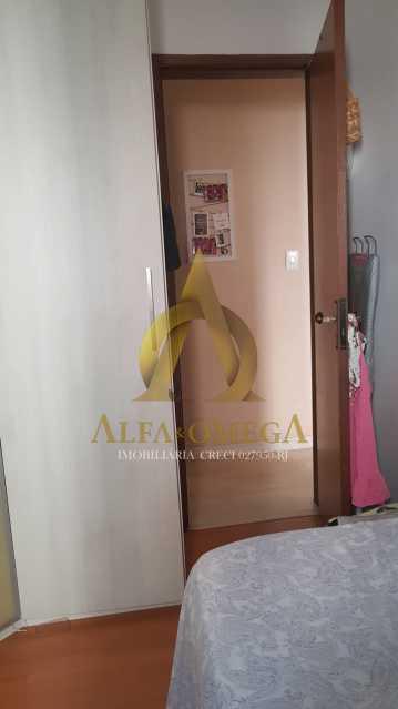 17 - Apartamento Estrada Pau-Ferro,Pechincha, Rio de Janeiro, RJ À Venda, 3 Quartos, 78m² - AOJ30031 - 13