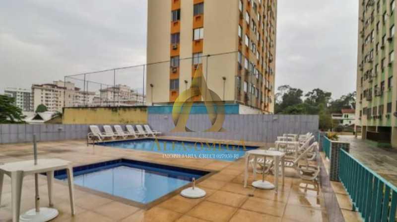 1 - Apartamento Estrada Pau-Ferro,Pechincha, Rio de Janeiro, RJ Para Alugar, 2 Quartos, 65m² - AOJ20042L - 1