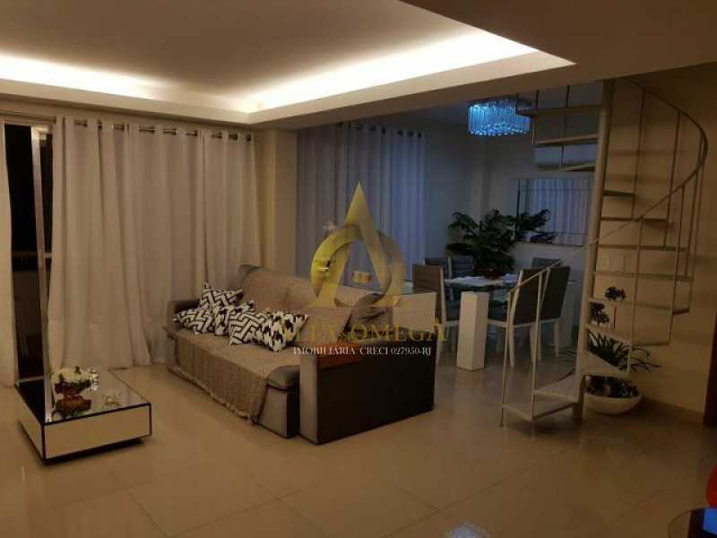 9 - Cobertura Rua Caniu,Pechincha, Rio de Janeiro, RJ À Venda, 3 Quartos, 165m² - AOJ50026 - 1