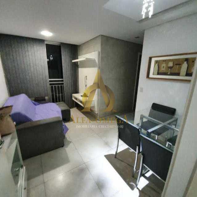 5 - Apartamento Estrada da Boiuna,Taquara, Rio de Janeiro, RJ À Venda, 2 Quartos, 49m² - AOJ20137 - 1