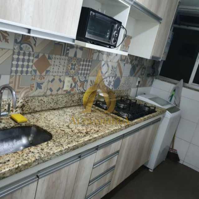 7 - Apartamento Estrada da Boiuna,Taquara, Rio de Janeiro, RJ À Venda, 2 Quartos, 49m² - AOJ20137 - 9