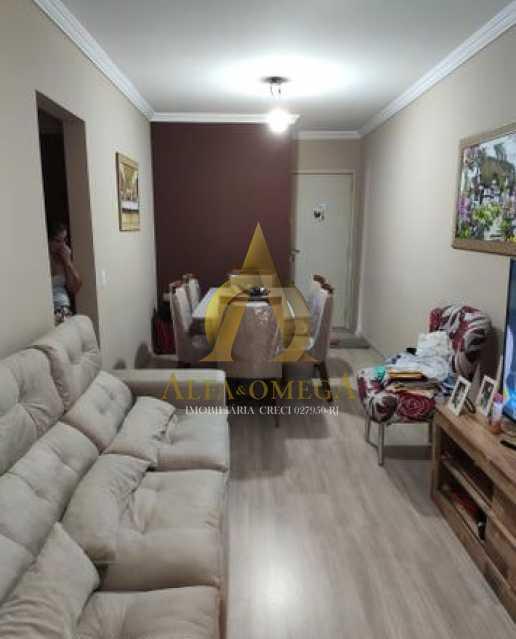 18 - Apartamento à venda Rua Godofredo Viana,Taquara, Rio de Janeiro - R$ 247.000 - AOJ20140 - 1