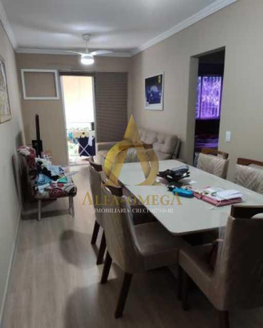 19 - Apartamento à venda Rua Godofredo Viana,Taquara, Rio de Janeiro - R$ 247.000 - AOJ20140 - 3